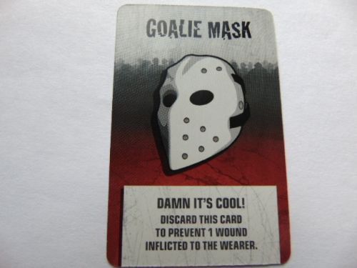 survivor equipment card (hockey mask)